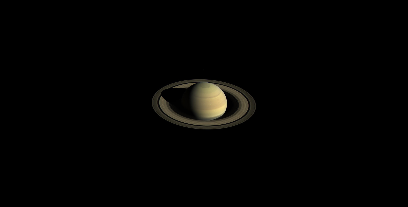 Saturn via Cassini Orbiter © NASA/JPL-Caltech/Space Science Institute/PIA21046